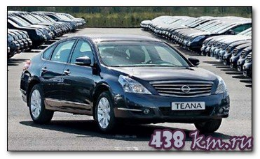 Технические характеристики Nissan Teana