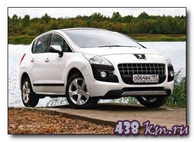Технические характиристики Peugeot 3008