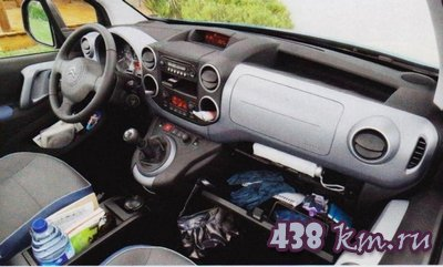 Семейный автомобиль Citroen Berlingo