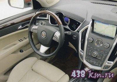 Технические характеристики Cadillac srx