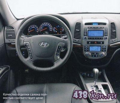 Hyundai santa fe отзывы