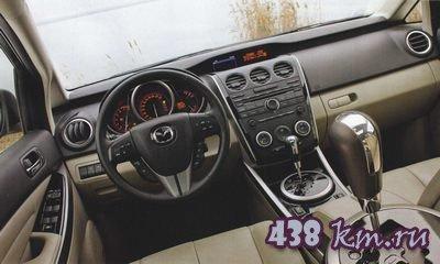 Mazda CX-7 тест