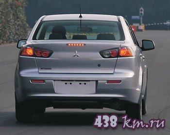 Mitsubishi Lancer X рестайлинг