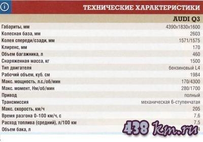 AUDI Q3 цена