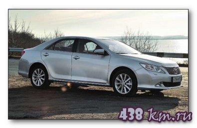 Тест- драйв новой Toyota Саmгу
