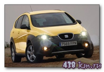 SEAT Altea Freetrack тест-драйв