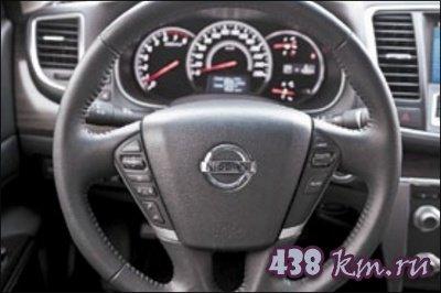 Nissan Teana тест - драйв