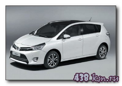 новая Toyota Verso