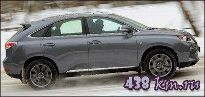 Lexus вид сбоку