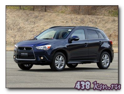 Mitsubishi ASX  рестайлинг