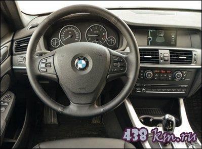BMW X3 салон