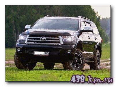 Toyota Sequoia доработка владельца
