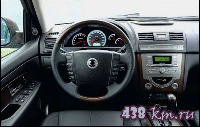 SsangYong Rexton салон