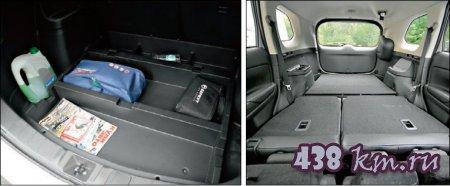 mitsubishi outlander багажник