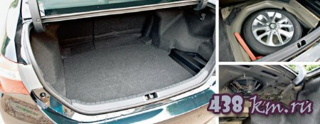 Новая Тойота Королла багажник