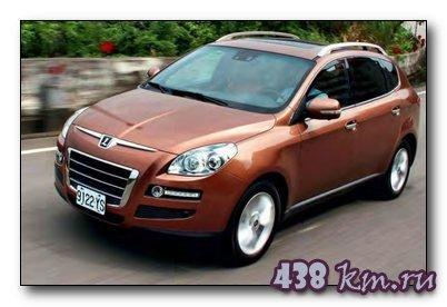 В России стартовали продажи Luxgen7 SUV