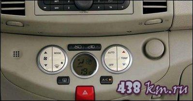 Nissan Micra приборы