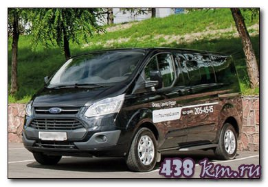 Тест драйв Ford Tourneo Custom