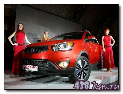SsangYong Actyon Red Line