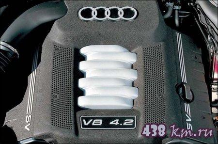 Audi А8 мотор