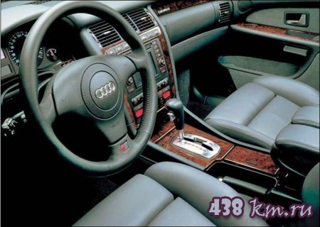 Audi А8 салон