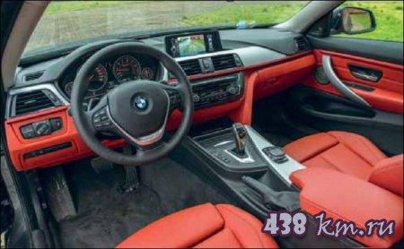 BMW 435i xdrive салон
