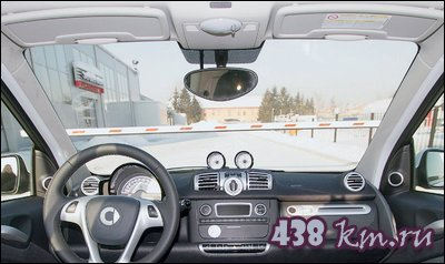 тест-драйва автомобиля smart