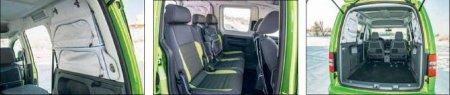 Volkswagen Cross Caddy обзор