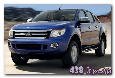 Ford Ranger 2014 обзор, характеристики, цены