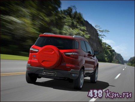 Компактный кроссовер Ford EcoSport