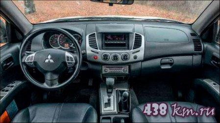 обновленный Mitsubishi L200