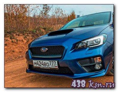 Subaru WRX 2014 обзор