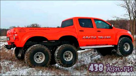 Arctic Trucks Hilux АТ38 6x6