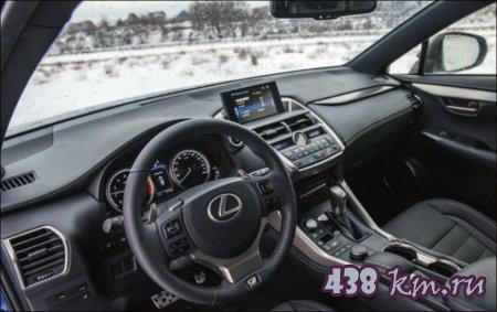 Lexus NX300h тест на драйв