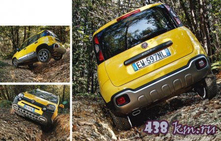 Сравнение Fiat Panda Gross и Jeep Cherokee Trailhawk