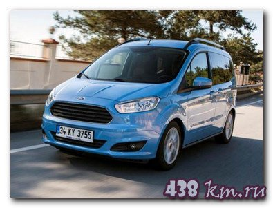 Обзор Ford Transit Courier