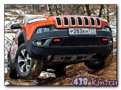 Jeep Cherokee Trailhawk тест на драйв