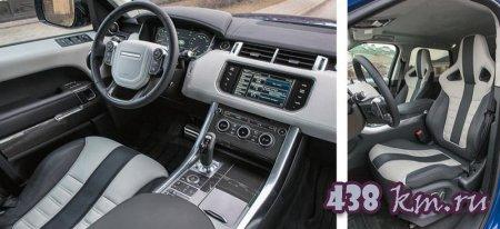 Проба руля BMW X5 M - Range Rover Sport SVR - Porsche Cayenne Turbo