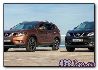 Сравниваем Nissan Qashqai и X-Trail