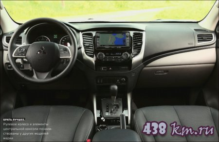 Новый Mitsubishi L200