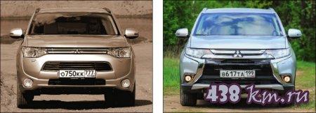 Обновленный Mitsubishi Outlander 2015, описание, цены, фото