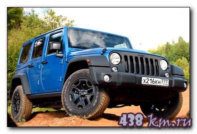 Jeep Wrangler Rubicon характеристики, тест-драйв, цена