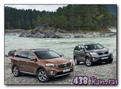 Kia Sorento Prime (Соренто Прайм) 2015 тест- драйв, характеристики, фото