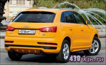 Рестайлинг Audi Q3