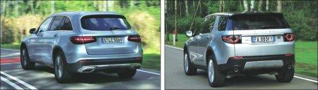 Тестируем новый Land Rover и новый Mercedes GLC