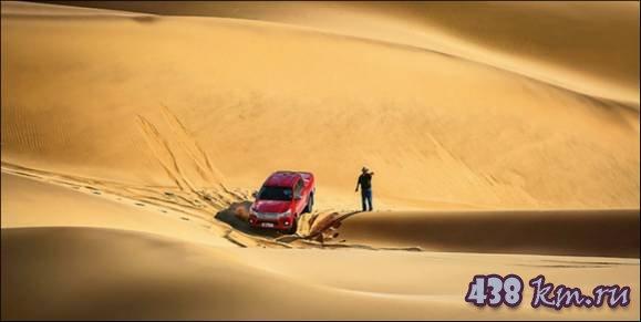 проба руля Toyota Hilux