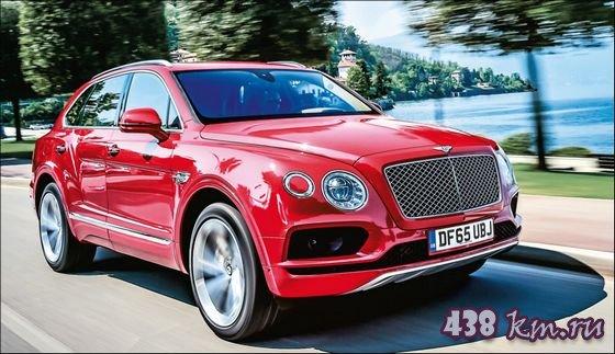 Bentley Bentayga фото