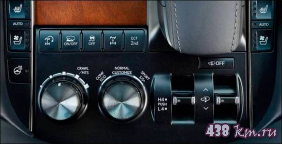 Lexus LX 570 и 450d