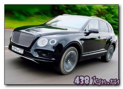 Bentley Bentayga-фото
