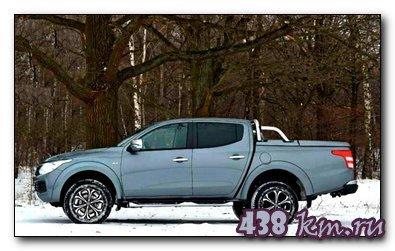 Fiat Fullback тест на драйв